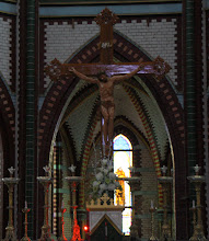 Photo: Year 2 Day 54 - Alter of St. Mark's Cathedral in Yangon
