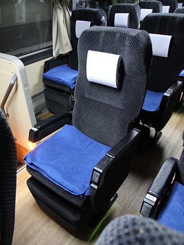 西日本鉄道「博多・フジヤマ Express」 4852 シート