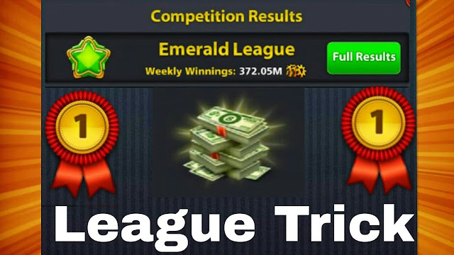 How to win the league in 8 ball pool