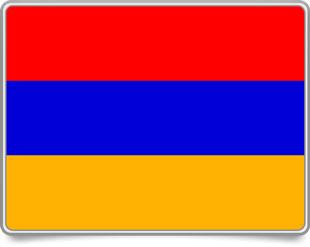 Armenian framed flag icons with box shadow