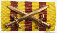 015 Kampforden Bronze draagtekens
