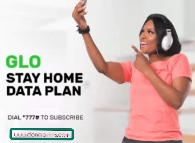 Glo stay at home data plan»» Enjoy up to 20% more data