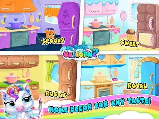 My Baby Unicorn 2 - New Virtual Pony Pet apkdebit screenshots 16