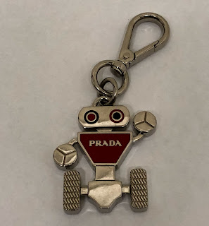 Prada Robot Key Chain