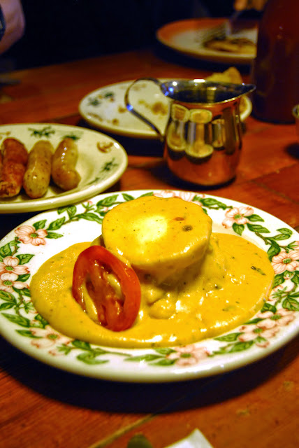 Eggs benedict served at Old Town Cafe / Credit: Bellingham Whatcom County Tourism