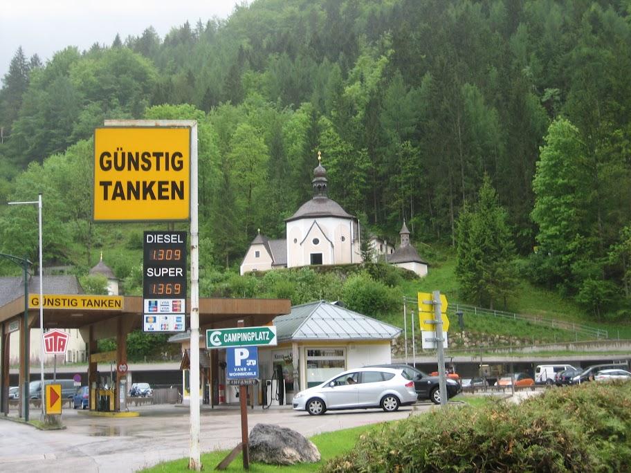 Как нескучно встретить пенсию… (Польша, Словакия, Австрия, Чехия - май 2014)
