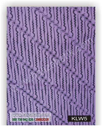 Macam Batik, Kain Batik Modern, Jual Batik Murah, KLW5