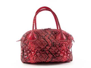 Glen Arthur Snakeskin Leather Handbag