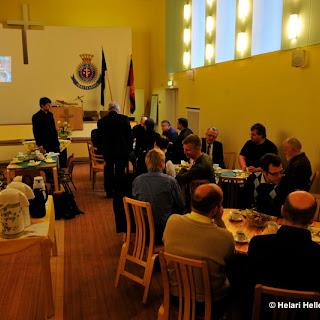 Tallinna vaimulike töötegijate kogunemine Tallinna Päästearmees