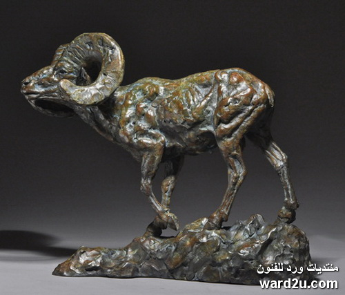 حيوانات برونزيه للنحات الاسترالى Mick Doellinger