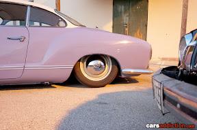 VW Karmann Ghia rear quarter panel