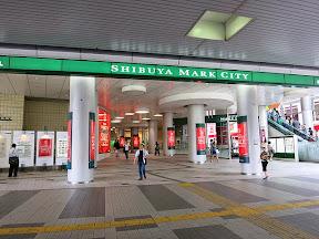 渋谷マークシティーの入り口