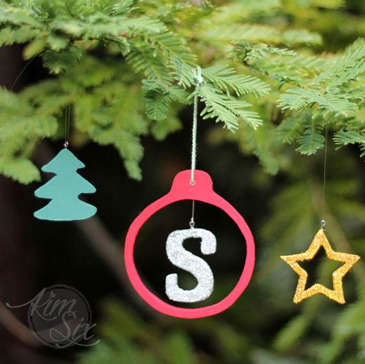 Mix and match custom ornaments