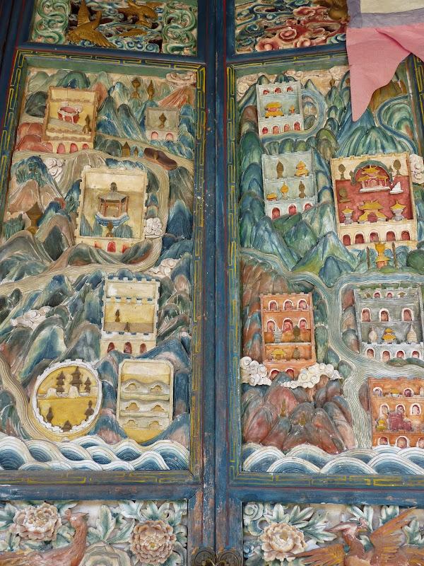 rares portes peintes