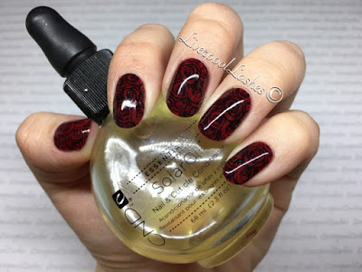 liverpoollashes liverpool lashes velvet rose nails scouser blogger cnd shellac scarlet letter