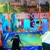 ছট পুজোতে নতুন নজির গড়লেন বোলপুরের বাসিন্দা, বাড়িতেই নকল জলাশয় করে ছট পুজো