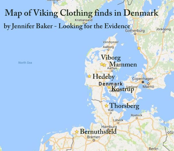 Viking Clothing Guides Looking For The Evidence - Sweden map hedestad