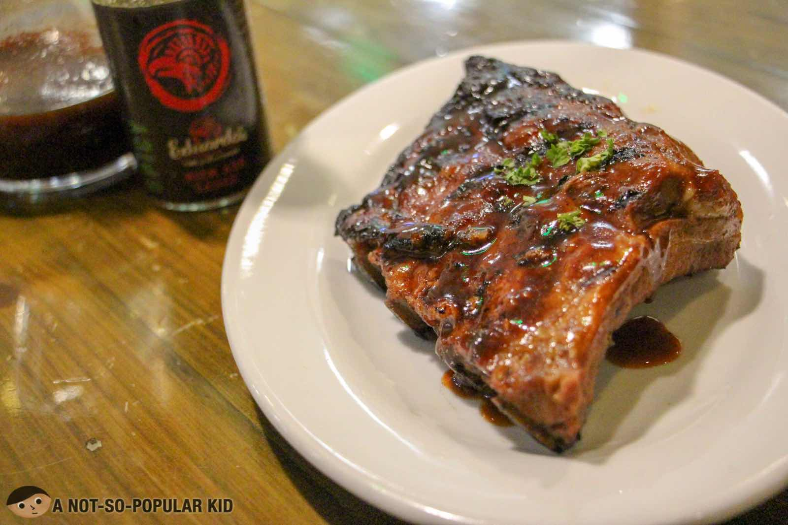 Baby Back Ribs Half Slab of Eduardo's Peri Peri Chicken