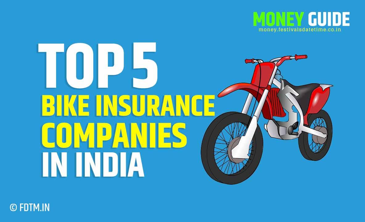 Top 5 Bike Insurance Companies in India