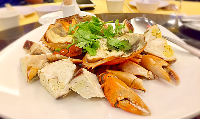 Swatow Seafood at Toa Payoh - Unforgettable Fresh Cold Crab with Golden Creamy Crab Roe
