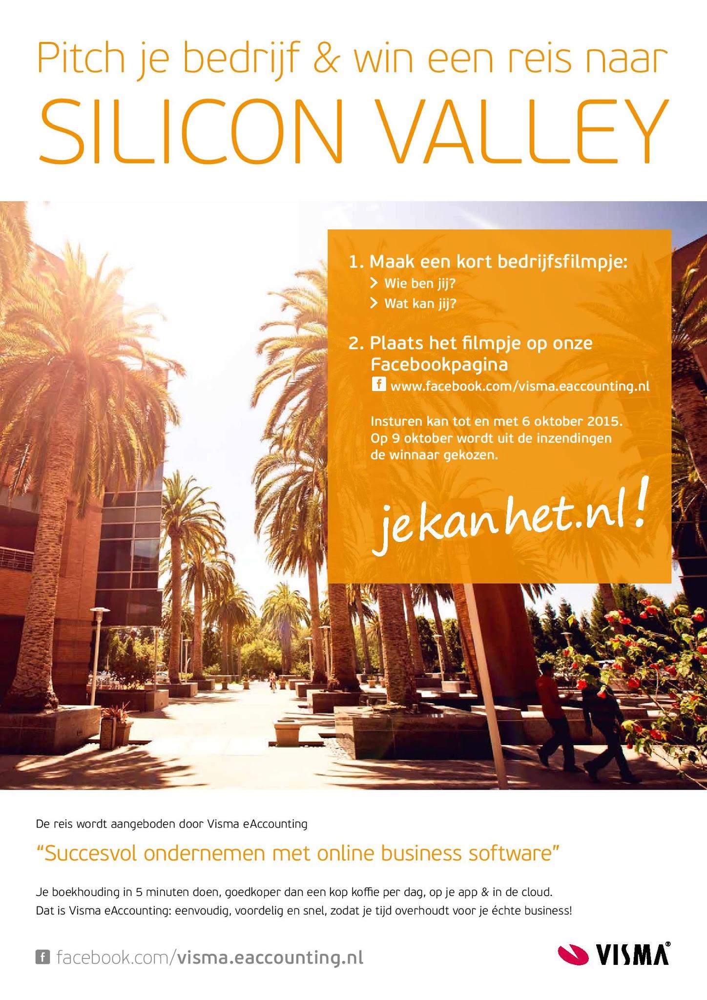 Ontwerp campagneposter 'Pitch je bedrijf!' voor Visma e-Accounting. Door: www.zuurstof.nl