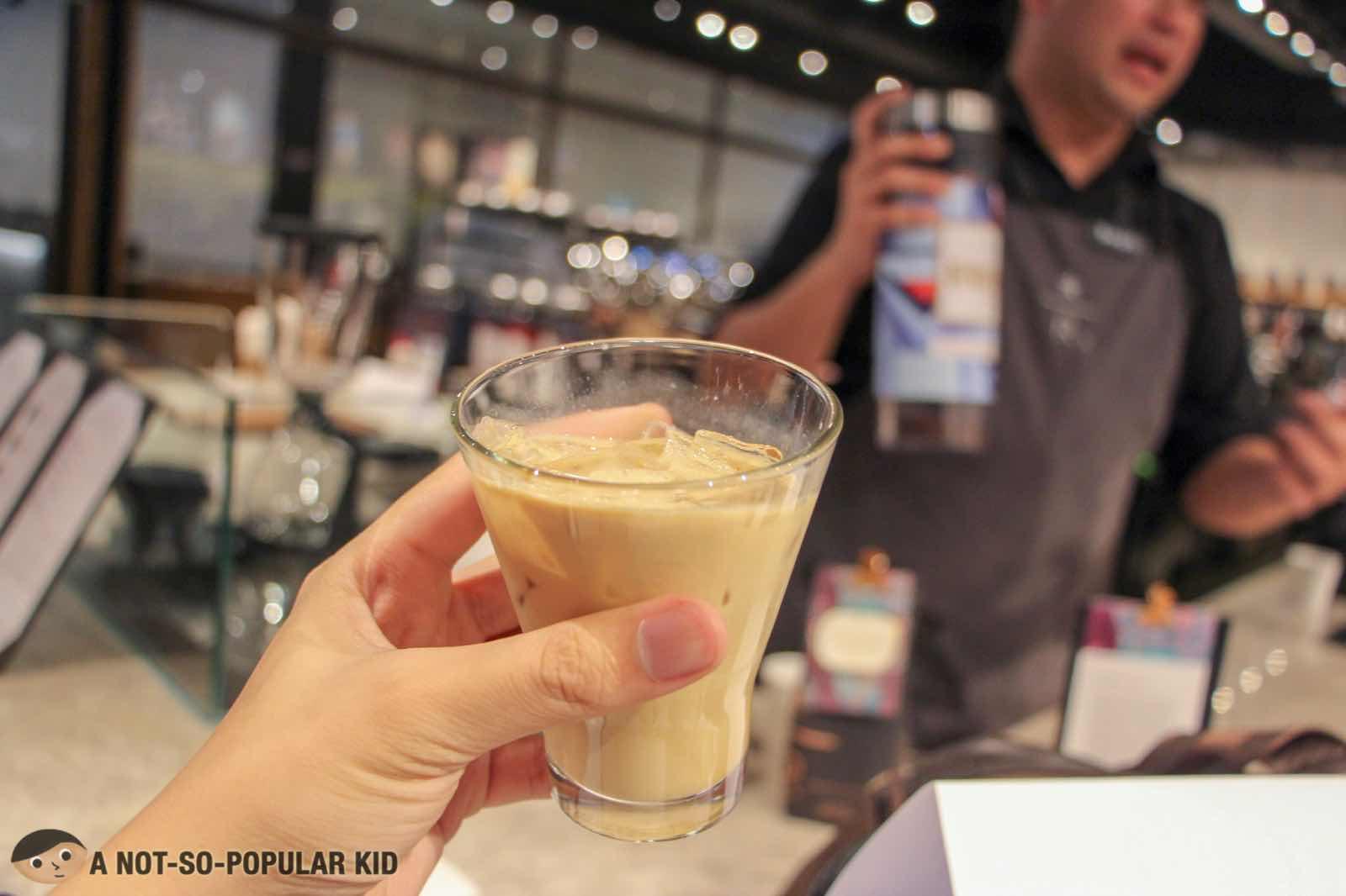 Rwanda Kanzu Coffee in Starbucks Reserve
