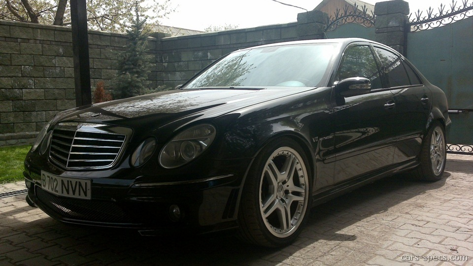 2002 mercedes benz e class e55 amg specifications for Mercedes benz 2002 e class