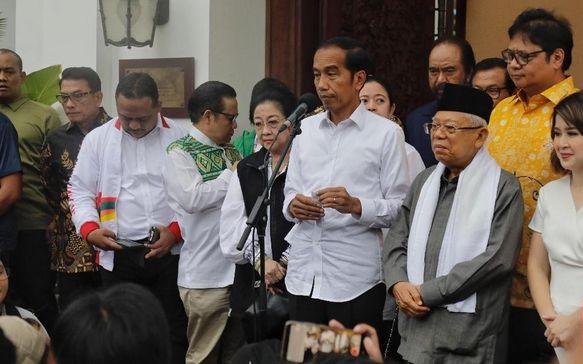 Jokowi Kumpulkan Petinggi Parpol Koalisi Non-DPR, Pakar Politik: Presiden Berusaha 'Cegah' Mereka Jadi Oposisi