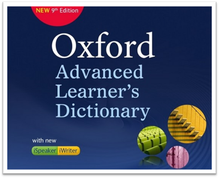 Từ điển Oxford Advanced Learners Dictionary 9th Edition with iWriter iSpeaker