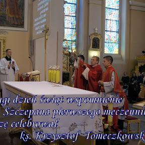 2017-12-26 Św. Szczepan pierwszy męczennik