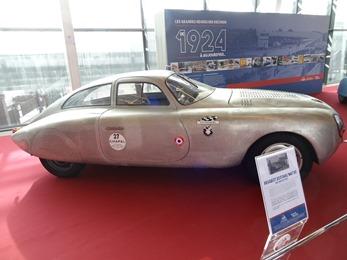 2018.12.11-073 Les Grandes Heures de l'Automobile Peugeot 203 Darl'Mat DS (records de 1953)