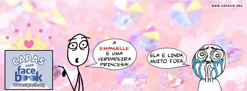 Capas para Facebook Emanuelle