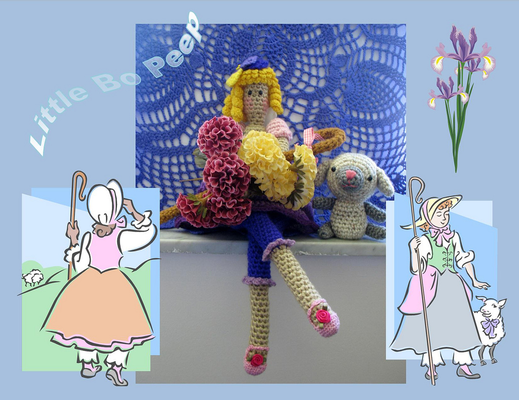 Amigurumi Fairy Pattern : 2000 Free Amigurumi Patterns: Long Legged Fairy Crochet ...