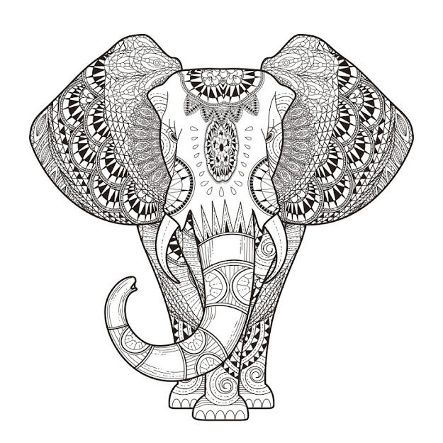 Adult Coloring Pages Animals  Adult Coloring Book Coloring Pages  Throughout Animal Coloring Pages For Adults