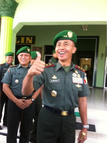 Bantu Pengamanan Pilkada Serentak di Jatim, Kodam Turunkan Satu SSK Setiap Kodim