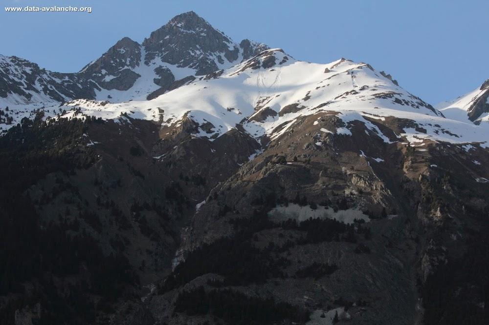 Avalanche Vanoise, secteur Rateau d'Aussois, RD 215 - Avalanche de l'Apolonie - Photo 1