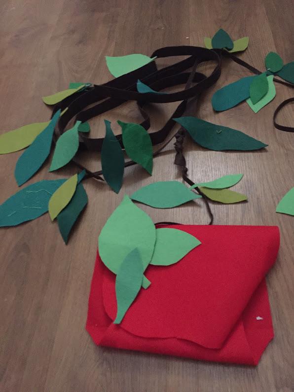 8-sorbos-de-inspiracion-Mowgli Disfraz casero-mowgli-disfraz-niño-disfraz-libro-de-la-selva-proceso