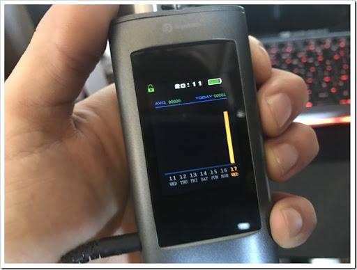 IMG 1576 thumb%25255B2%25255D - 【MP3プレイヤー搭載MOD】Joyetech OCUKAR Cレビュー!電話の代わりにVAPEを搭載した新時代MOD!タッチパネルは新時代のブームとなりうるか?【ガジェット風/万歩計/カレンダー】