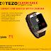 Zotezo Flash Sale - Get Smart Watch @ Rs.1