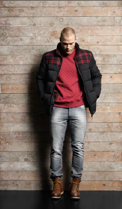 Solid Autumn/Winter 2016 Collection Nordic Lumberjacks [men's fashion]