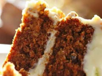 Carrot Cake (Nuts & Raisins) w/Cream Cheese Icing