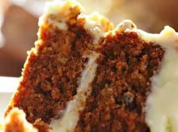 Carrot Cake (Nuts & Raisins) w/Cream Cheese Icing