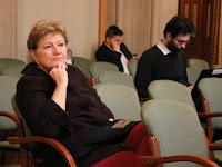 25 - Szili Katalin miniszterelnöki megbízott is érdeklődéssel figyelte az előadásokat.JPG