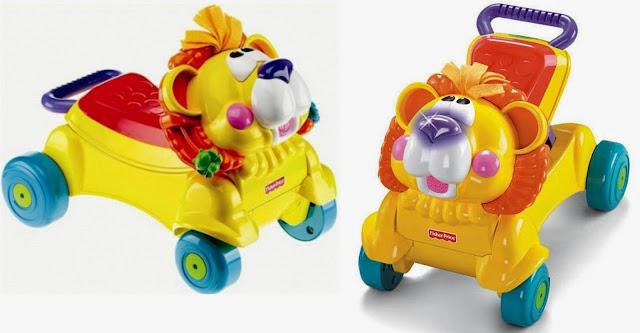 Chỉ cần đặt đuôi Sư tử xuống là đã chuyển đổi thành chiếc xe đồ chơi