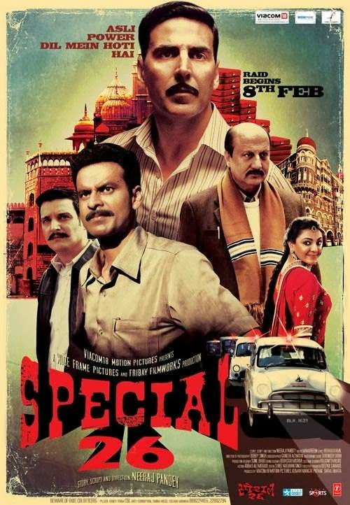 Cover of Special 26 (2013) Hindi Movie Mp3 Songs Free Download Listen Online at Alldownloads4u.Com