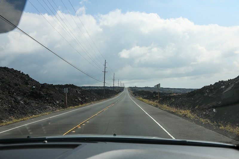 driving to volcanic np-3