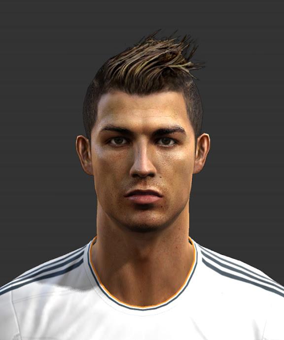 Cristiano Ronaldo Face - PES 2013