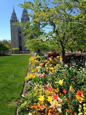 Temple square gardens