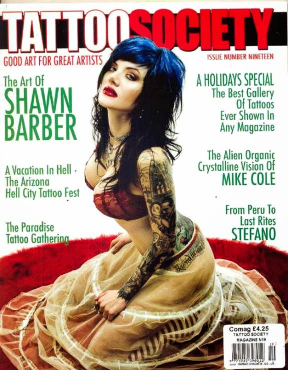 Tattoo magazines free tattoo pictures for Best tattoo magazine