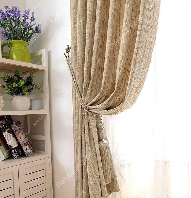 Rèm cửa đẹp ở hà nội một màu nhung lịch lãm 12